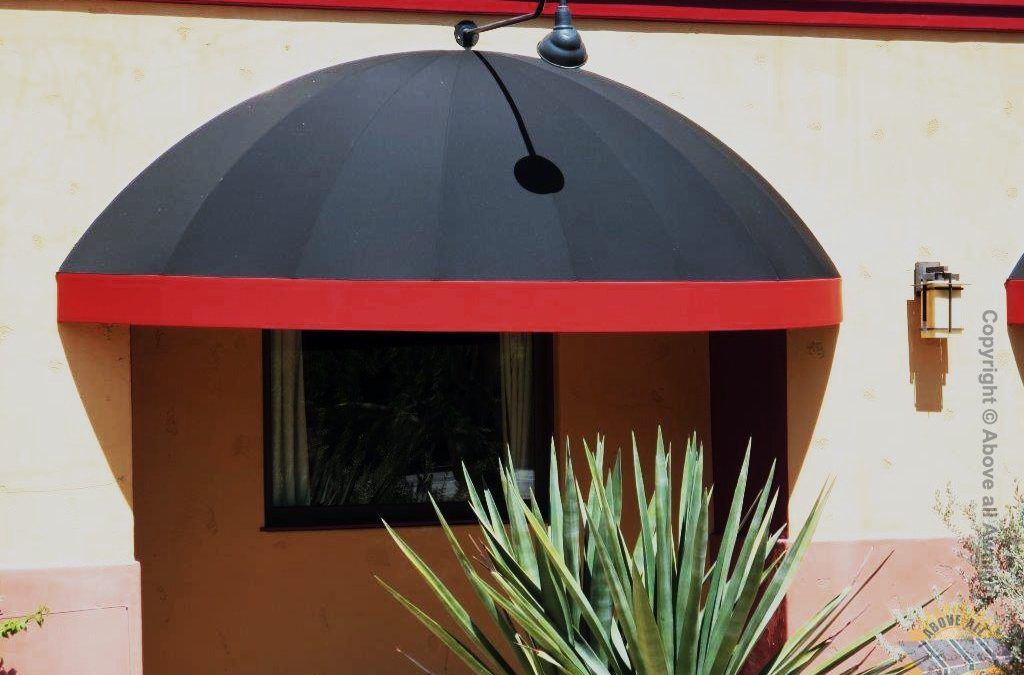 Dome Awnings on Restaurant