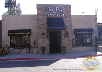 Commercial Spear Awnings 3 in a set