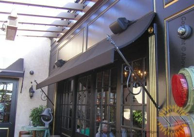 Commercial Spear Awnings