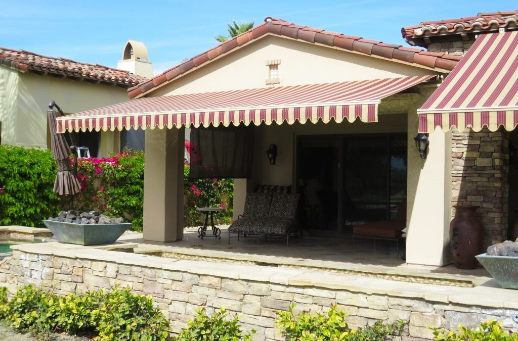 Palm Springs Striped Awning