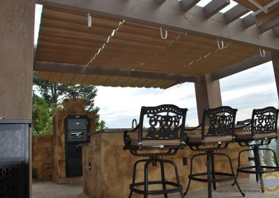 Wire Guided Awnings