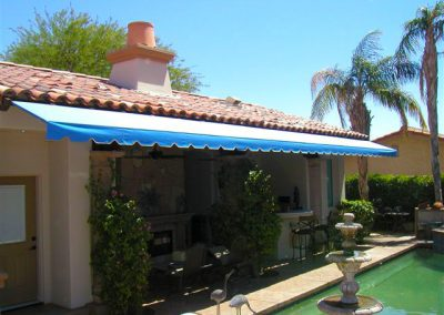 Stationary Patio Cover By Pool