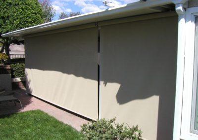 Beige Backyard Drop Rolls