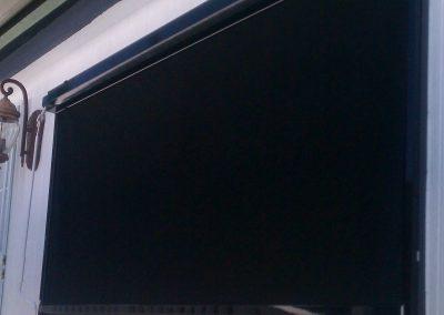 Black Drop Roll For Window