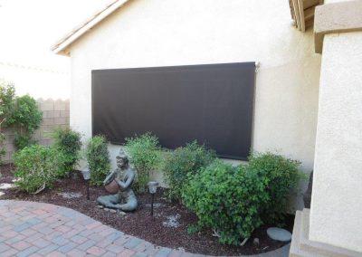 Large Black Window Drop Roll