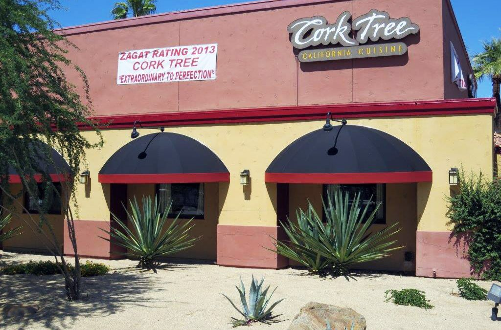 Cork Tree Restaurant Awning