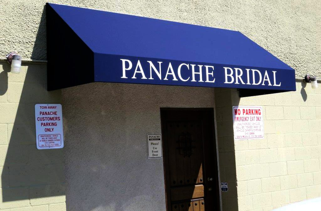 Panache Bridal Commercial Awning