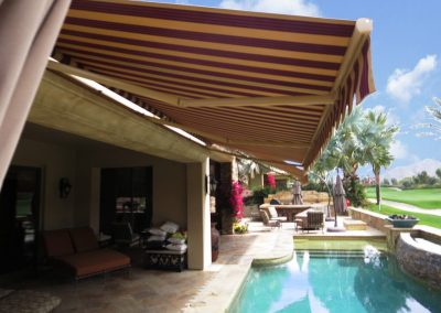 Retractable Patio Cover in Palm Desert