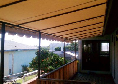 Side Balcony Cover