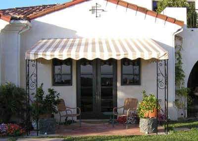 Small Stationary Patio Cover