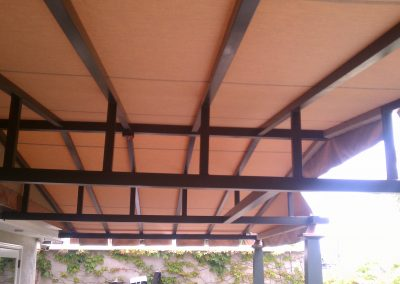 Stationary Patio Cover Trusses