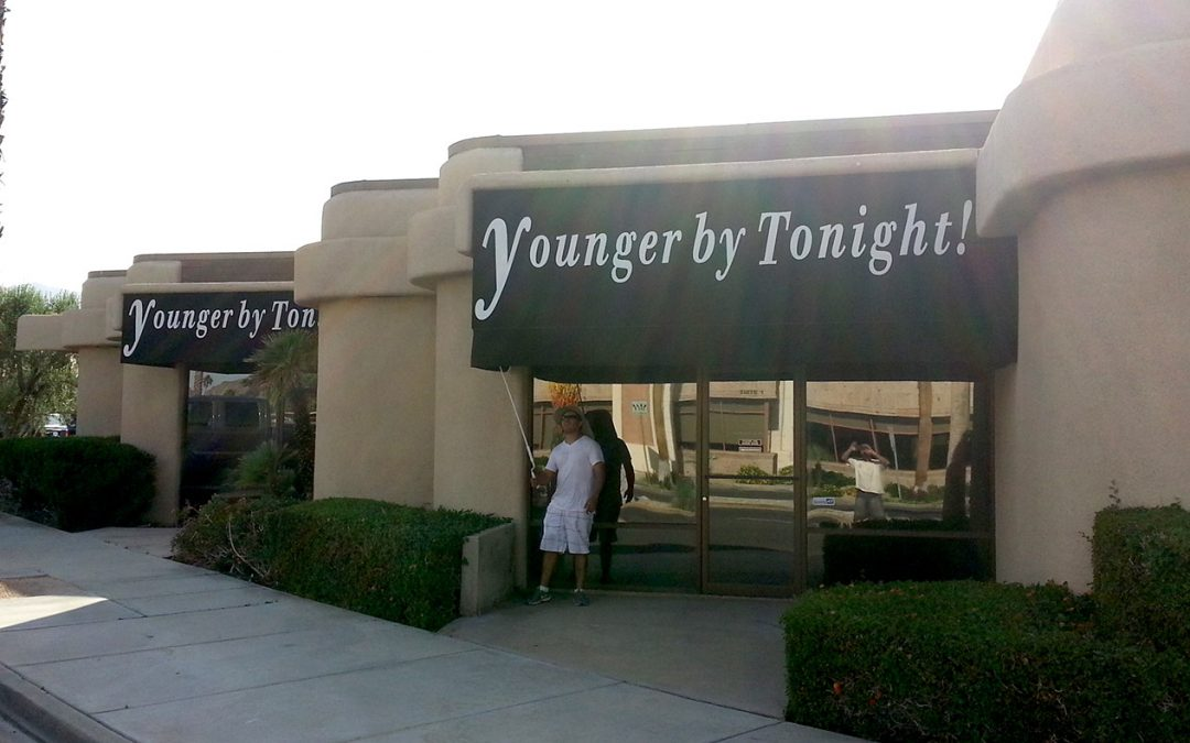 Younger By Tonight Commercial Awning