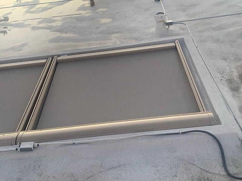 Skylight Awnings Installation