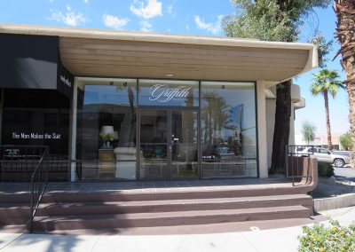Before Black Commercial Awnings Griffith Interiors