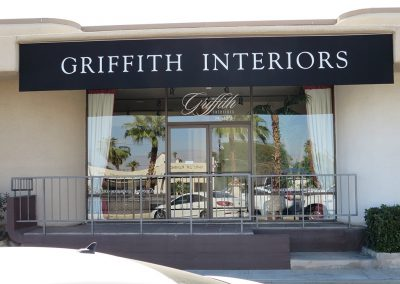 Black Commercial Awnings Griffith Interiors
